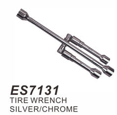 China Folding Lug Wrench , 4 Way Lug Nut Wrench 14 Inches Body Length For Easy Leverage supplier