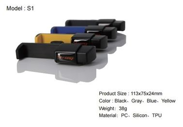 China Simple Easy Install Air Vent Mobile Holder , Mobile Phone Holder For Car Air Vent supplier
