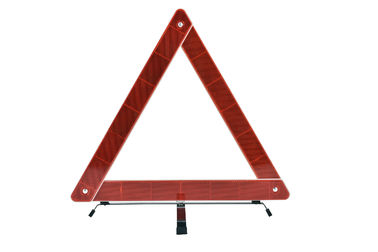 China Deep Red Color Emergency Triangle Reflector Kit Road Safety Triangles supplier