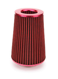 Installtion Easily Funnel Air Filter 230 Mm Height With Deep Red Color