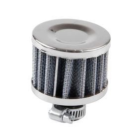 Worldwide Lightweigh Cold Air Intake Filter Neck Size 12mm Carbon Color