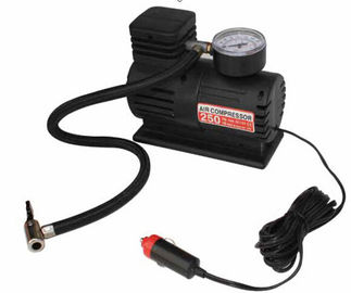 Auto Electric Air Compressor , Tire Inflator 300PSI Automobile Emergency Air Pump